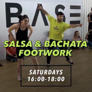 Saturday Salsa and Bachata Footwork Pass
