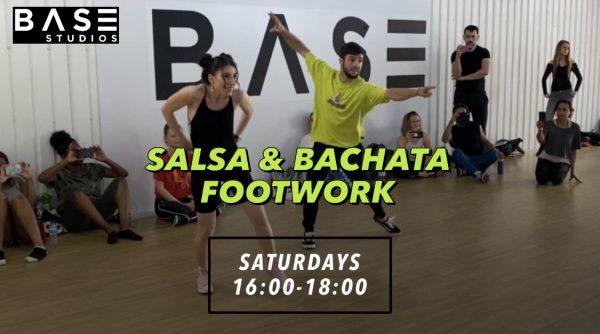 SALSA AND BACHATA FOOTWORK SATURDAYS BASE STUDIOS e1630424909714