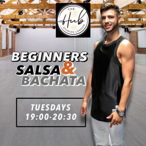 Tuesday Beginners Salsa and Bachata Pass