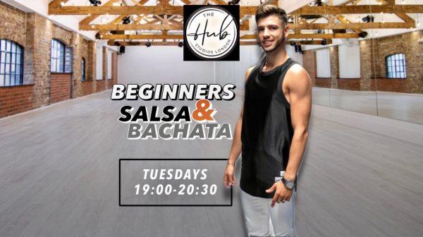 SALSA AND BACHATA BEGINNERS CLASSES LONDON THE HUB STUDIOS e1630425521499